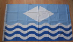 Isle of Wight Large County Flag - 5' x 3'.